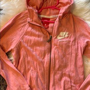 Girls Nike Zip Up Hoodie Medium